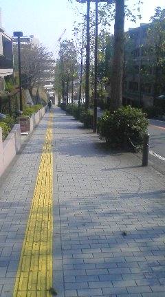 宮前平の坂道