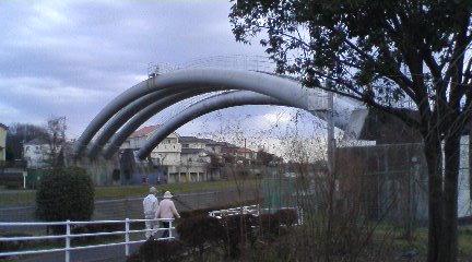 境川の水道橋